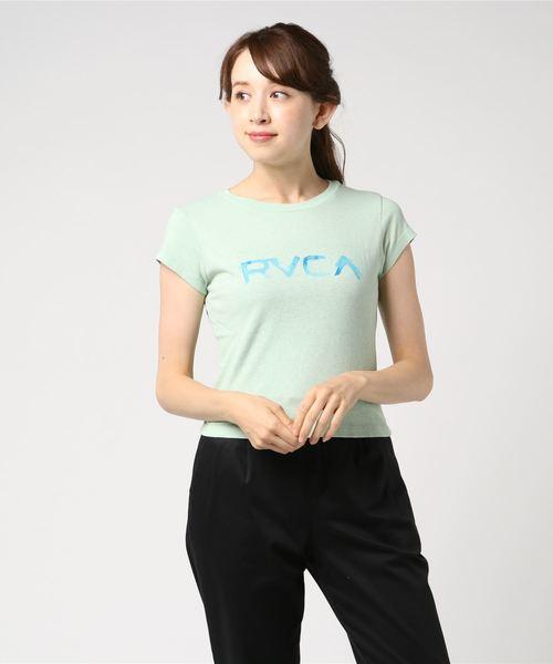 RVCA レディース WASHED RVCA SS Tシャツ