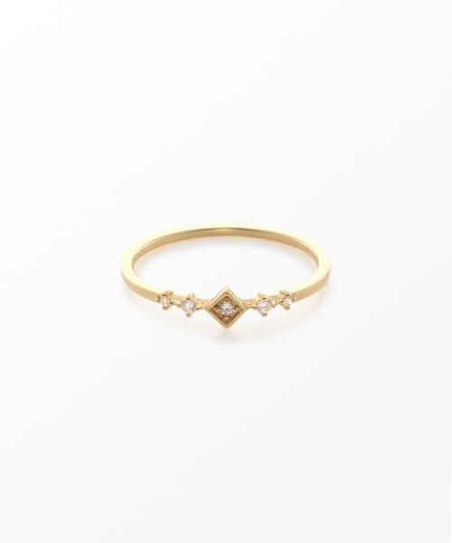 独創的 K10YG ダイヤモンド リング「レイヤード」(リング) ダイヤモンド|ete(エテ)のファッション通販, ウルフムーン:713dbd03 --- steuergraefe.de