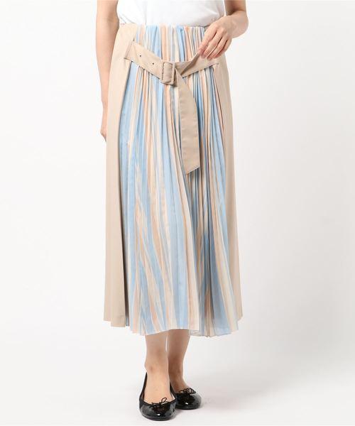 上質で快適 【セール】プリーツストライプコンビスカート(スカート)|sophila(ソフィラ)のファッション通販, ローフード通販ショップLOHAS:18ed307f --- hausundgartentipps.de