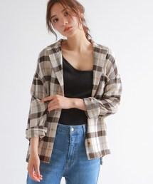 OZOC(オゾック)のテーラーシャツジャケット(セットアップ)(テーラードジャケット)