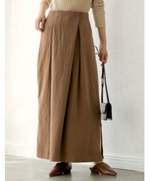 Re:EDIT(リエディ)のフロントタックストレートコットンツイードスカート(スカート)