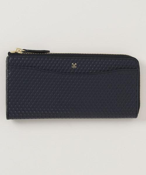SAZABY(サザビー)の「HSK-03/長財布(財布)」|ダークネイビー