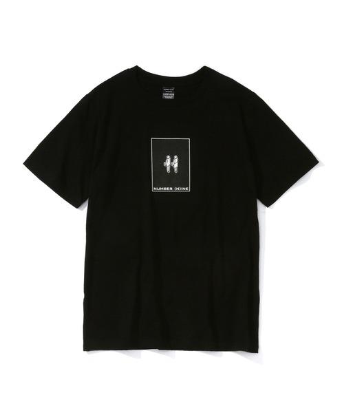 NUMBER (N)INE(ナンバーナイン)の「UxD NUMBER (N)INE  T-SHIRT/UxD ナンバーナイン Tシャツ(Tシャツ/カットソー)」 ブラック