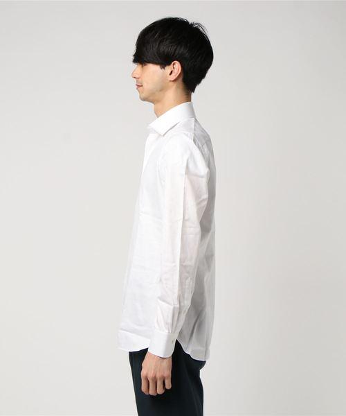 LUIGI BORRELLI ツイルドレスシャツ 'LUCIANO'