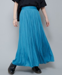 CIAOPANIC(チャオパニック)の【新色追加】サテンギャザープリーツスカート(スカート)