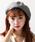 WEGO(ウィゴー)の「WEGO/パイピングベレー帽(ハンチング/ベレー帽)」|グレー