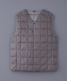 TAION(タイオン)のTAION V NECK BUTTON DOWN VEST (TAION-001)(ダウンベスト)