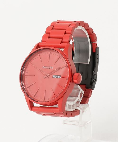 f33d4f61481 THE SENTRY SS NA356191-00 ALL RED(腕時計)|NIXON(ニクソン)の ...
