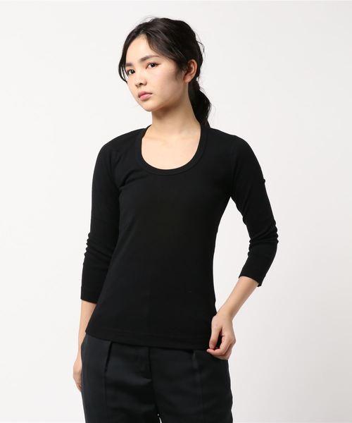 【three dots】Tシャツ/ロンT