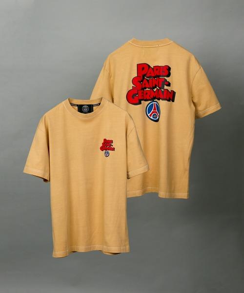 PARIS SAINT-GERMAIN(パリ?サン=ジェルマン)の「【Paris Saint-Germain / パリサンジェルマン】POP ロゴTシャツ(Tシャツ/カットソー)」|キャメル