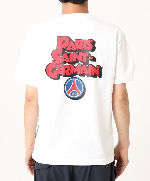 PARIS SAINT-GERMAIN(パリ?サン=ジェルマン)の「【Paris Saint-Germain / パリサンジェルマン】POP ロゴTシャツ(Tシャツ/カットソー)」|詳細画像