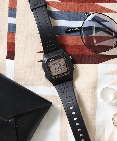 【 CASIO / カシオ 】 スタンダード デジタル 腕時計 W800HG9A DKS
