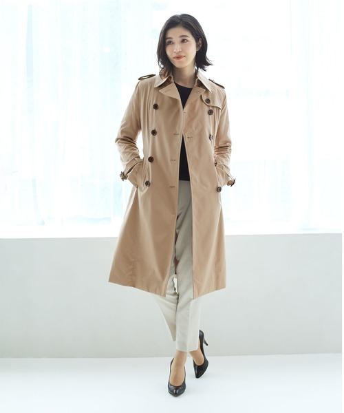 最高の品質の スプリングトレンチコートロング(トレンチコート)|sankyo shokai(サンキョウショウカイ)のファッション通販, インターショップ:e55662f1 --- tsuburaya.azurewebsites.net