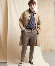 TRストレッチスリムテーパードスラックス EMMA CLOTHES 2021 SPRINGブラウン系その他3