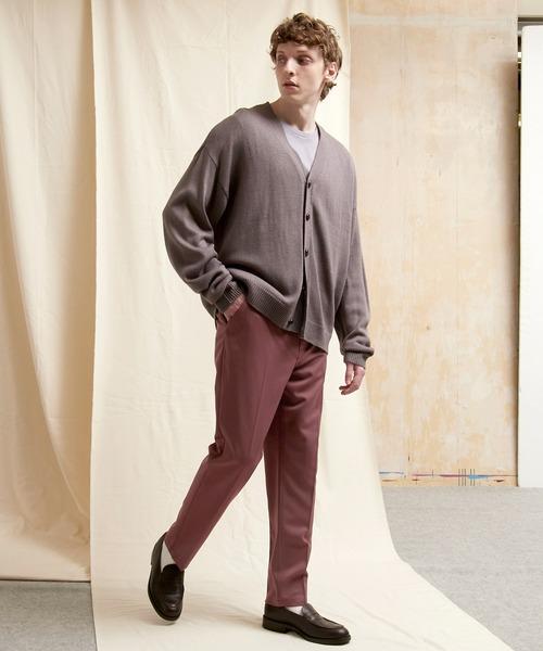 TRストレッチスリムテーパードスラックス EMMA CLOTHES 2021 A/W