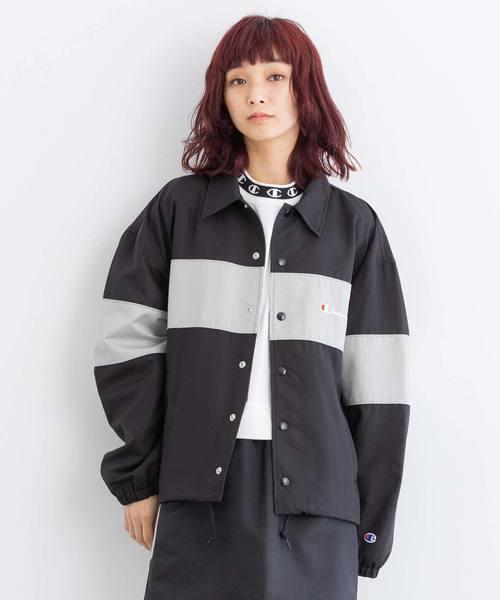 【お買い得!】 【セール x】X-girl x Champion COACH COACH JACKET(ブルゾン)|X-girl(エックスガール)のファッション通販, 海展貿易shop:a5f3ac86 --- skoda-tmn.ru