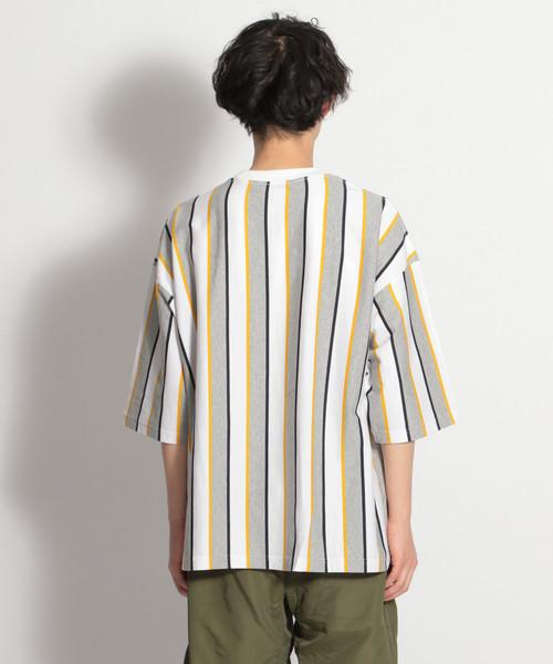 ストライプビッグTシャツ