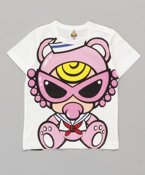 SAILOR TEDDY MIN エンジェルコット半袖BIGTシャツ