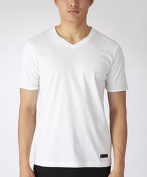 BLACK LABEL CRESTBRIDGE(ブラックレーベル・クレストブリッジ)のマーセライズVネックT(Tシャツ/カットソー)