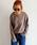 Auntie Rosa Holiday(アンティローザホリデー)の「【Holiday】ヘビーウェイトロングスリーブT  ◆WEB限定◆(Tシャツ/カットソー)」|モカ
