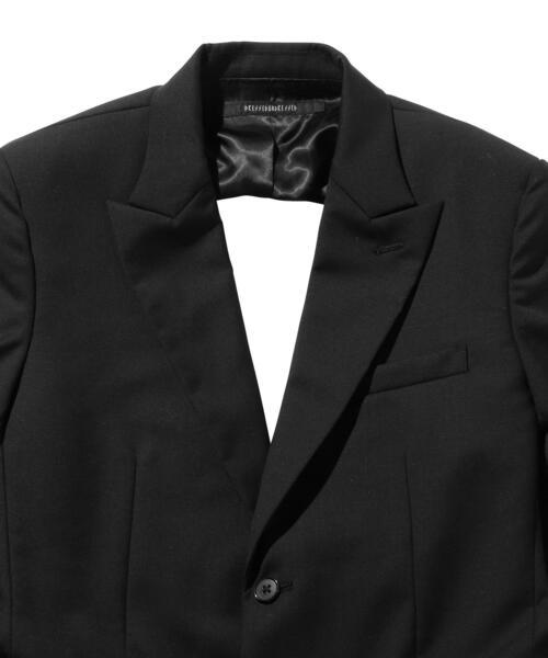 <DRESSEDUNDRESSED> BLACK C/O BLZR/ジャケット
