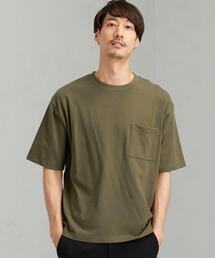 ★SC テーパードヘム クルー 半袖 Tシャツ