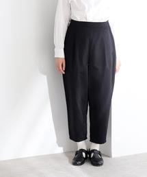 yuni(ユニ )のコットン/リネン/シルク テーパードパンツ(パンツ)