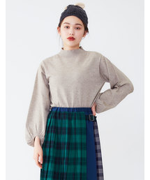 POU DOU DOU(プードゥドゥ)のバルーン袖ニットプルオーバー(ニット/セーター)