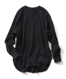 IEDIT(イディット)のIEDIT バックファスナーデザインのオーバーサイズトップス(Tシャツ/カットソー)