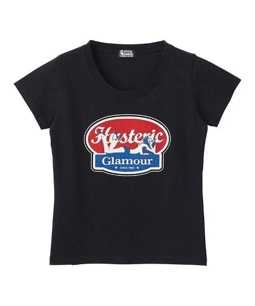 OVAL WOMAN LOGO チビTシャツ