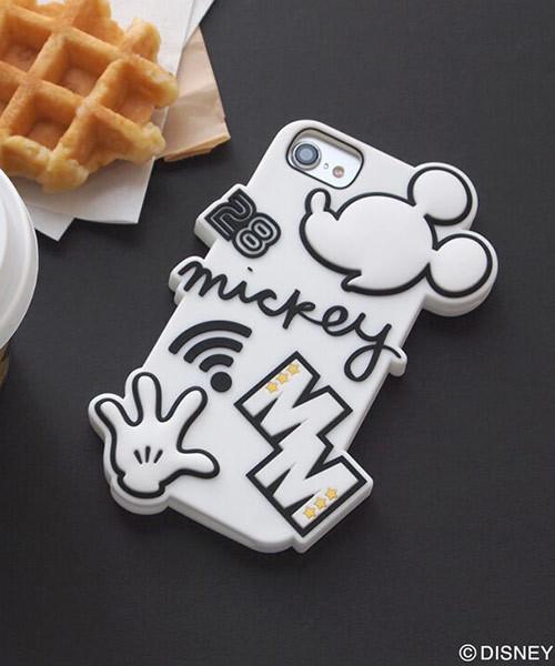Disney(ディズニー)の「Disney(ディズニー)シリコン  iPhone  ケース(モバイルケース/カバー)」|ホワイト