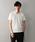 LOVELESS(ラブレス)の「【LOVELESS】スタッズVネックTシャツ(Tシャツ/カットソー)」 オフホワイト