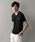 LOVELESS(ラブレス)の「【LOVELESS】スタッズVネックTシャツ(Tシャツ/カットソー)」 ブラック