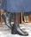 neue diffusion(ノイエディフュージョン)の「ベルト付ショートブーツ/4402大きいサイズ(ブーツ)」 ブラック