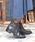 neue diffusion(ノイエディフュージョン)の「ベルト付ショートブーツ/4402大きいサイズ(ブーツ)」 詳細画像