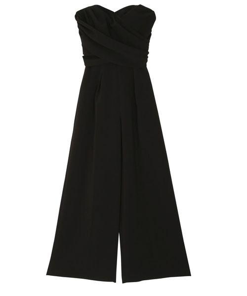 4633184797cbf LAGUNAMOON(ラグナムーン)のLADYクロスベアパンツドレス(ドレス)