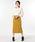 NOLLEY'S(ノーリーズ)の「シャンブレーコールベルト付タイトスカート(スカート)」|イエロー