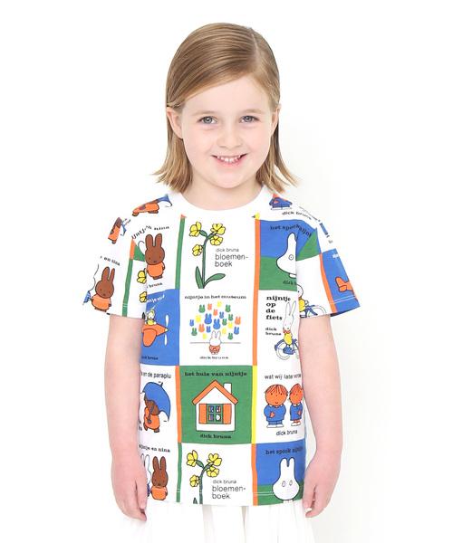 コラボレーションキッズTシャツ/カバーコレクト(ミッフィー)