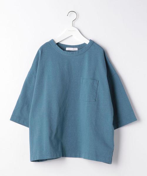 『BRACTMENT(ブラクトメント)』 ネップ ドルマン クルー Tシャツ