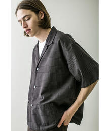 <monkey time> BLC CHECK CROPPED OP SHIRT/クロップドシャツ