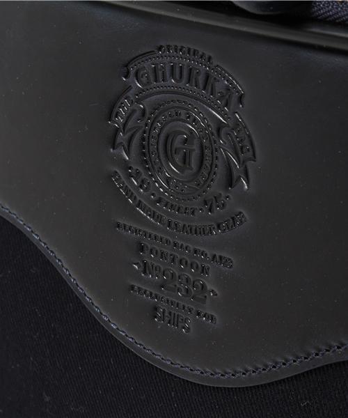 GHURKA (グルカ)の「SHIPS別注GHURKA: 【PONTOON NO.232】 トロリー(スーツケース/キャリーバッグ)」|詳細画像