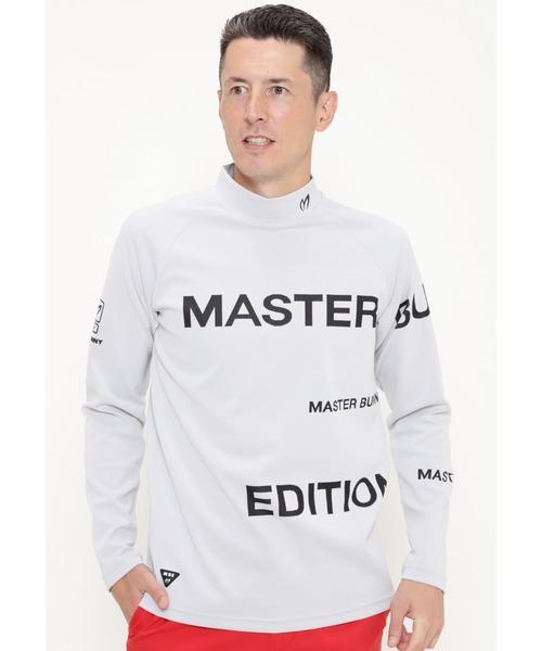 MASTER BUNNY EDITION(マスターバニーエディション)の「【MASTER BUNNY EDITION】MBEロゴパネルジャガード(Tシャツ/カットソー)」|ホワイト