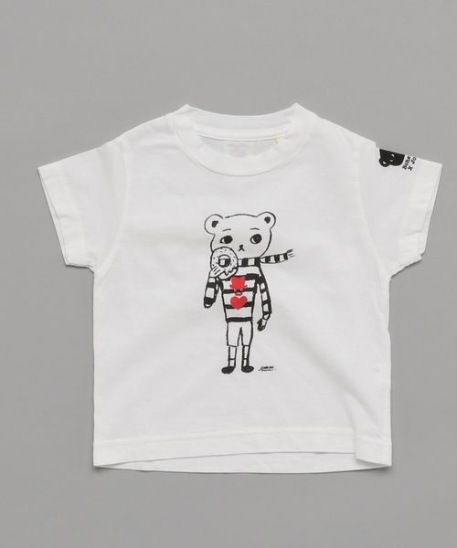Bohemians / BEAR 半袖 プリント Tシャツ 18 (ユニセックス 2~8才)