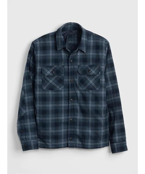 フランネル シャツジャケット