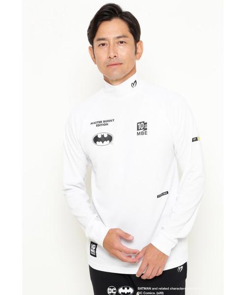 MASTER BUNNY EDITION(マスターバニーエディション)の「【MASTER BUNNY EDITION & BATMAN】BATMAN ワッフルカットソー(Tシャツ/カットソー)」|ホワイト