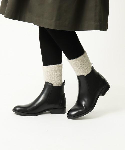 【 H FOOTWEAR / エイチフットウェア 】 BOUCLE ブークエレソックス MJI・・