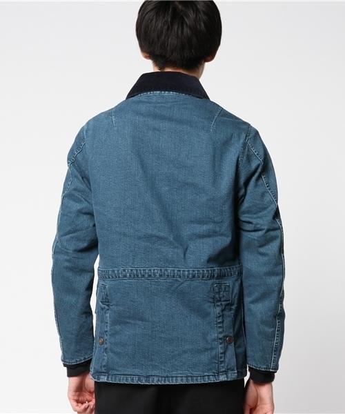 【UNIVERD72】デニム アイランドジャケット/日本製