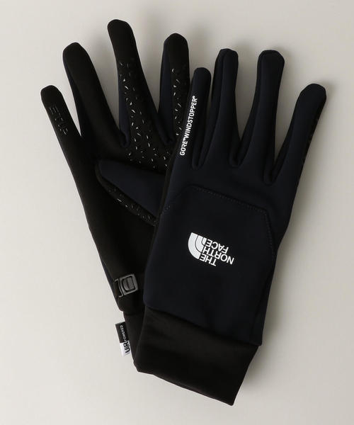 【WORK TRIP OUTFITS】THE NORTH FACE WIND STOPPER ETIP グローブ