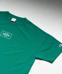Champion(チャンピオン)のChampion×WORK NOT WORK 別注リバースウィーブTシャツ(Tシャツ/カットソー)
