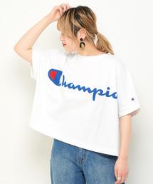 Champion(チャンピオン)の【Champion/チャンピオン】ロゴプリントビッグシルエットTシャツ(Tシャツ/カットソー)